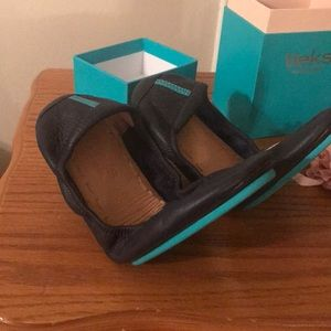 Tieks navy blue 😍 like new !